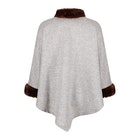 Country Attire Fox Women's Poncho