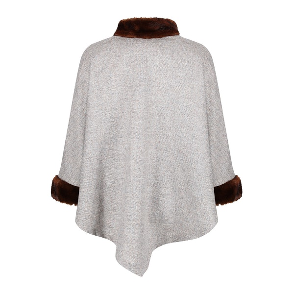 Country Attire Fox Womens Poncho