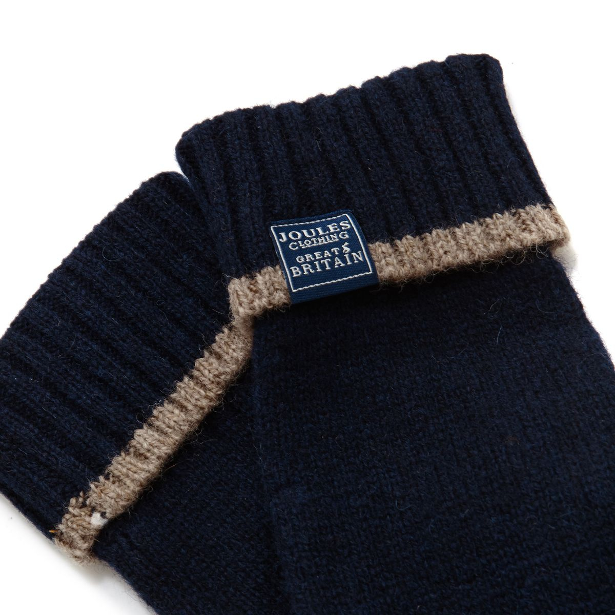 New Womens Joules Navy Huddle Lambswool Gloves
