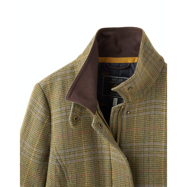 Joules Official Burghley Fieldcoat Damski Tweed Jackets