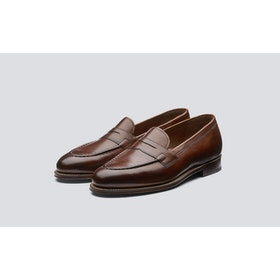 Dress Shoes Grenson Lloyd - Tan Hand Painted