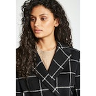 Jack Wills Blythe Long Checked Robe Women's Jacket