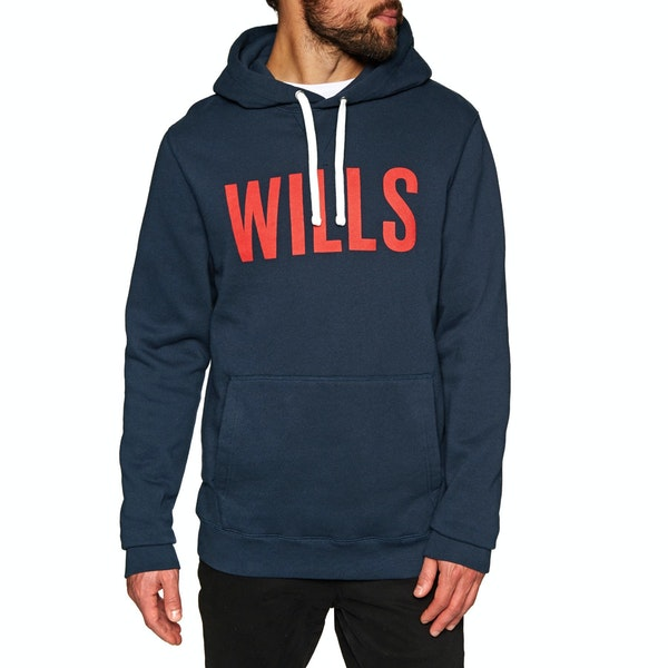 Jack Wills Batsford Wills Graphic Bluza z kapturem