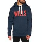 Jack Wills Batsford Wills Graphic Pullover Hoody