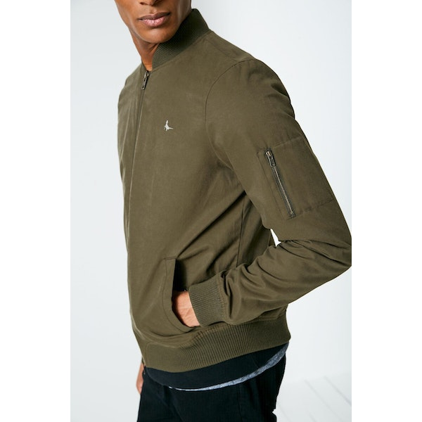 Jack Wills Rame Padded Bomber Jacket