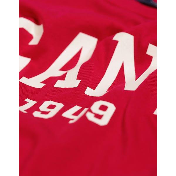 Gant Teens Logo Tričko s krátkým rukávem