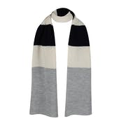 Peregrine Made In England Stripe , Scarf Dam