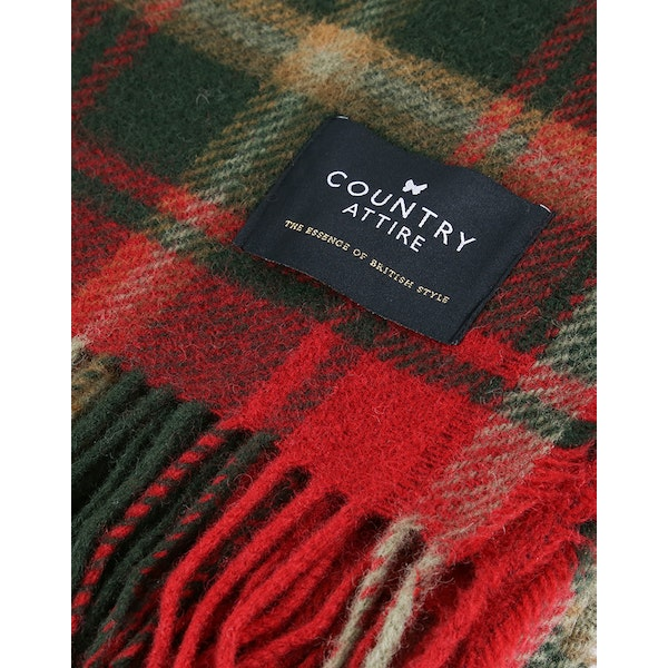 Country Attire Oxford Throw