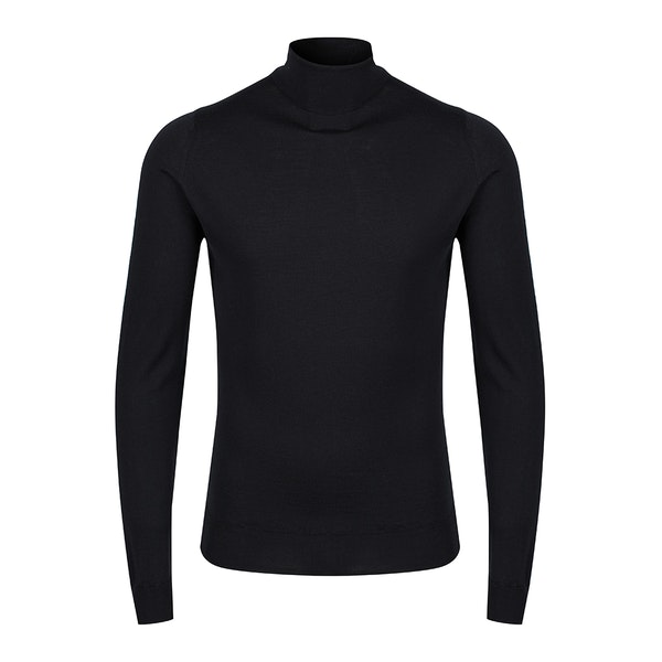 John Smedley Made in England Cherwell Roll Neck Men's Sweater