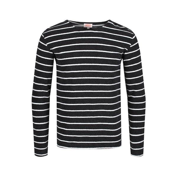 Armor Lux Towelling Breton Men's Long Sleeve T-Shirt
