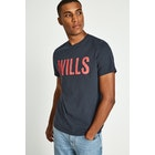 Jack Wills Wentworth Wills Graphic Short Sleeve T-Shirt