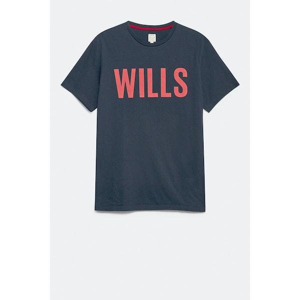 Jack Wills Wentworth Wills Graphic Tričko s krátkým rukávem