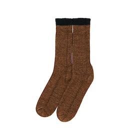 Peregrine Made In England Boot Wellingtons Socks - Cinnamon