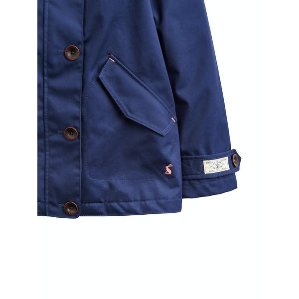Joules Coast Girl's Waterproof Jacket