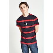 Jack Wills Ezra Stripe Retro T-Shirt Korte Mouwen