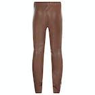 Troy London Stretch Leather Kvinner Leggings