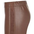 Troy London Stretch Leather Women's Leggings