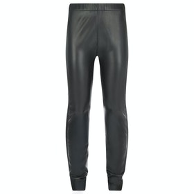 Leggings Donna Troy London Stretch Leather - Black