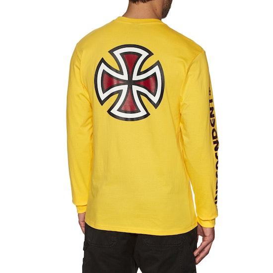 Independent Bar Cross Long Sleeve T-Shirt