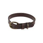 Country Attire Brady 2cm Small Leather Halsbånd til Hund