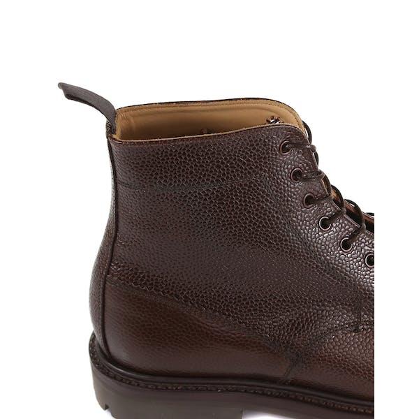 Sanders MIE Kelso Walnut Grain Derby Men's Boots
