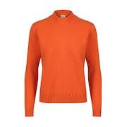 Country of Origin Knitwear Plain Boyfriend Women's Sweater