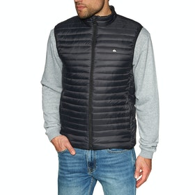 Quiksilver Scaly Sleeveles Body Warmer - Black