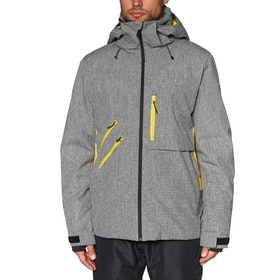 Quiksilver Traverse Snow Jacket - Black Heather