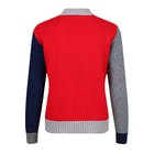 Country of Origin Knitwear Tricolour Cropped Women's Sweater