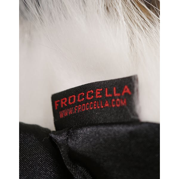 Froccella Quilted Mid Tri Colour Damski Kurtka