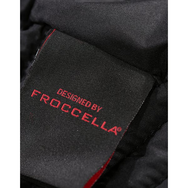 Froccella Mid Quilted Tri Colour Damski Kurtka