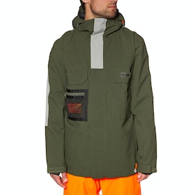 DC Defiant Snow Jacket - Olive Night