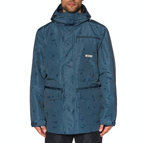 DC Servo Snow Jacket - Dress Blues Desert Night Camo