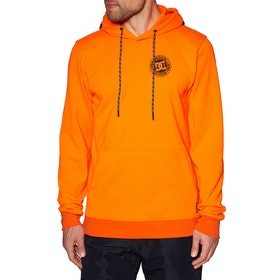 DC Snowstar Pullover Hoody - Shocking Orange