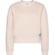 Calvin Klein Monogram Badge Relaxed Women's Sweater