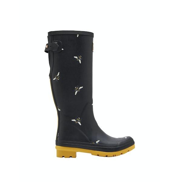 Joules Print Women's Wellington Boots