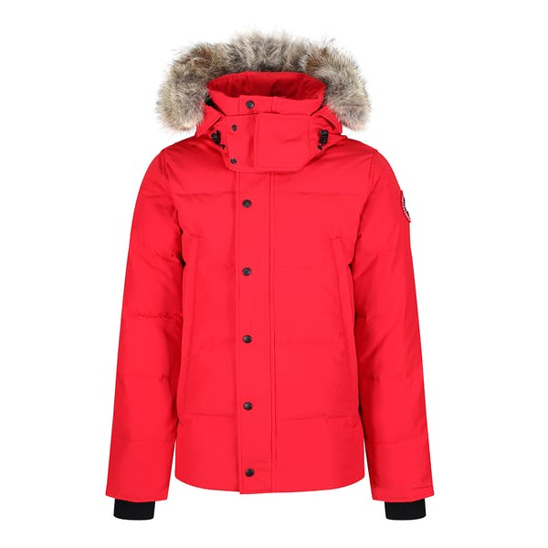 Canada Goose Wyndham Slim Fit with Removable Hood Down Jacket