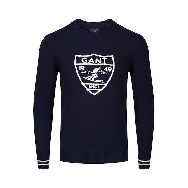 Gant Ski Crest Crew Sweter