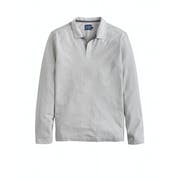 Joules Victor Long Sleeve Slub Heren Poloshirt