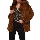 Free People Sold Kate Faux Fur Womens ジャケット