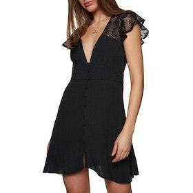 Free People Carolina Mini Dress - Black