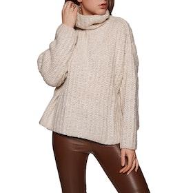 Free People Fluffy Fox Women's Sweater - Pearl