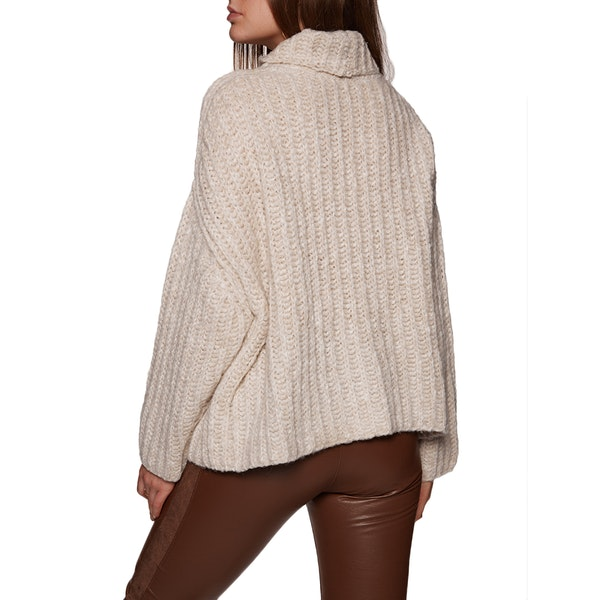 Free People Fluffy Fox Womens Svetr