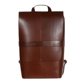 Brooks England Piccadilly Leather Rucksack - Brown