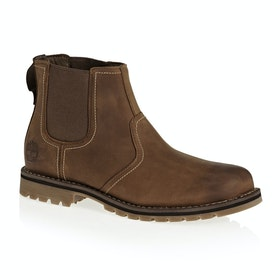 Сапоги Мужчины Timberland Larchmont Chelsea - Oakwood Fig with Suede