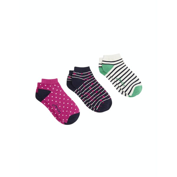 Calcetines Mujer Joules Brilliant Bamboo Shortie 3 Pack