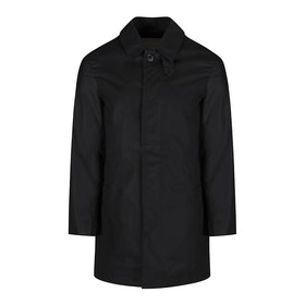 Mackintosh Made In England Shorter Classic Mac Modejakke - Black