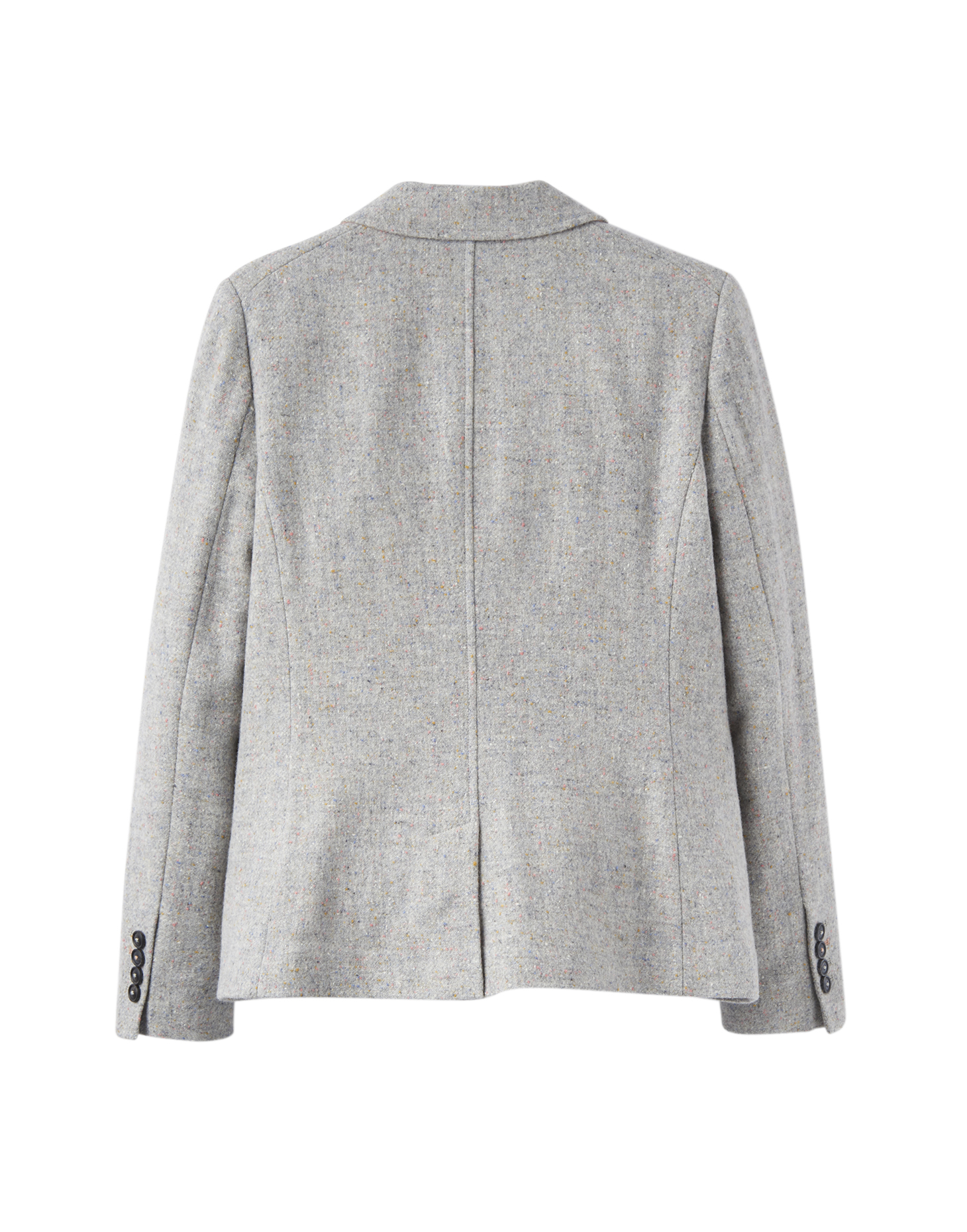 Joules Wiscombe , Tweed Jackets Dam Grey Tweed rea hos