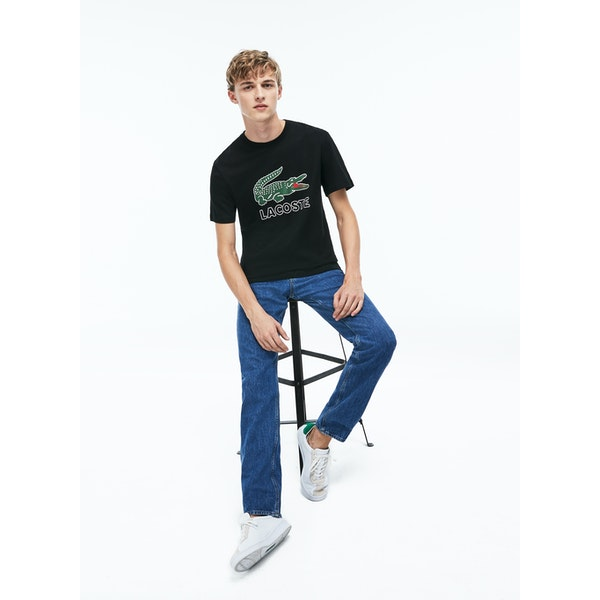 Lacoste Classic Logo Men's Short Sleeve T-Shirt