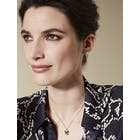 Karen Millen Leopard Small Pendant Necklace